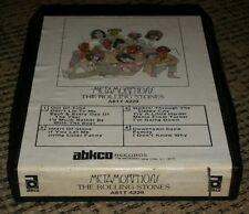 1975 ROLLING STONES Metamorphosis 8 Track VG ABCKO classic rock music album