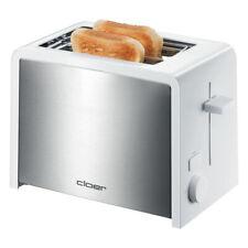 Cloer Toaster 3211 weiß Edelstahl für 2 Toastscheiben NEU  (B-Ware)