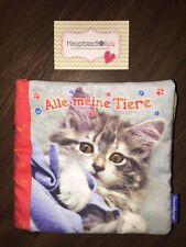 Ravensburger Stoffbuch Fotobuch Alle Meine Tiere Katze Schwein Lamm Pferd Bunt