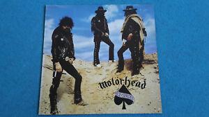 Motörhead LP ACE of SPADES fast wie NEU