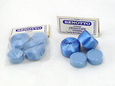 Benotto Handlebar Tape Cello Bar Smooth Vintage Blue Champagne Moser NOS x 2