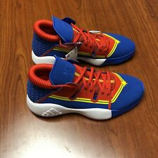 adidas Pro Vision J Captain Marvel Basketball Shoes Red/White/Blue Youth 6Y