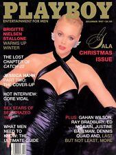 PLAYBOY DECEMBER 1987 India Allen Brigitte Nielsen GoreVidal Justine Bateman MLR