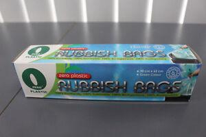 Zero-Plastic™ 100% Biodegradable Rubbish Bags (6 or 36 bags)