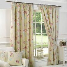 Cotton Blend Country Tape Top Curtains