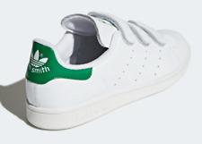 Adidas Men's Stan Smith Originals Size 12 S75187 Cloud Green White Strap New