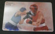 Greece 06/04 M034 boxing rare Greek phonecard Athens 2004 Griechenland Grece !!!