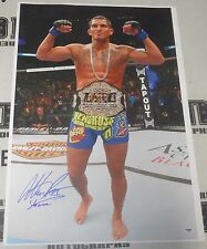Anthony Pettis Signed UFC 20x30 Canvas Photo PSA/DNA COA 164 Picture Autograph 1