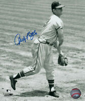 1957 BRAVES Andy Pafko signed 8x10 photo Autographed AUTO Milwaukee