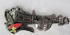 HARD ROCK CAFE KRAKOW LIMITED EDITION 3D SKYLINE GUITAR SERIES PIN # 88184