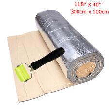 394mil 32.29sqft Car Silver Tone Heat Sound Deadener Insulation Mat 118