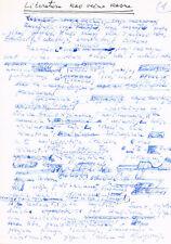 Yugoslavia Milovan Đilas 1911-97 Author/Dissident autograph signed manuscript