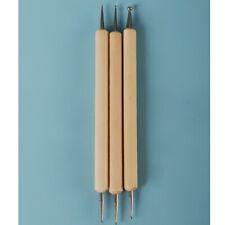 Dollmore OOAK Modeling Sculpture Tool Dot Pen 3Type (Silver)