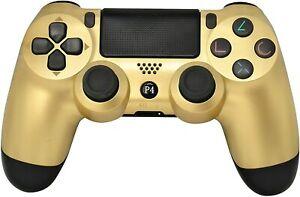 Sony PS4 PlayStation 4 DualShock 4 Dual Shock Wireless Controller v2- GOLDEN