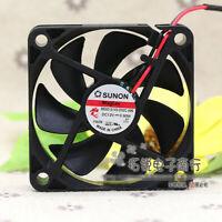 for SUNON ME60151V3-000U-G99 0.9W 12V 6CM Silent Fan