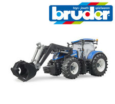 Bruder Toys 03121 New Holland T7.315 Tractor with Front Loader / Bucket 1:16