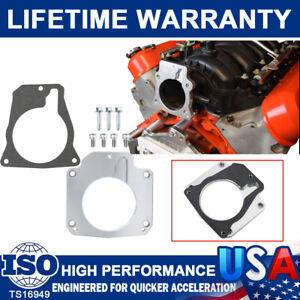 LS Throttle Body Adapter/4Bolt Intake to 3Bolt TB w/Gasket For LS1 Truck Adapter