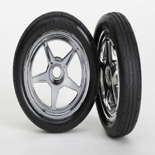 Traxxas 6975 Tire/Wheels Assembled/Glued Front (2) Funny Car