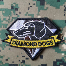 MGS DIAMOND DOGS U.S. ARMY USA MORALE BADGE TACTICAL PATCHES HOOK LOOP PATCH *02