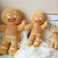 Shrek Adventure Gingerbread Man Gingy Plush Toy Soft Stuffed Animal Doll Movie