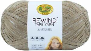 3 Pack-Lion Brand Rewind Yarn-Willow -523-124