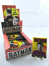 "1989 Topps Batman ""Joker Bust"" Sealed Series 1 Vintage DC Original Wax Pack *New"