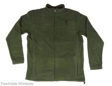 Mens NWT Browning Laramie Jacket Fleece Full Zip Clover Green BRI0047 Size M