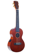 Java Series Tenor Elec Ukulele - Vintage Natural -