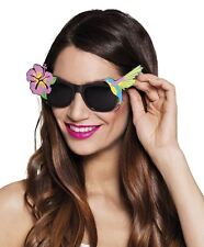 Adults Paradise Hawaiian Sunglasses Shades Summer Festival Party Fancy Dress