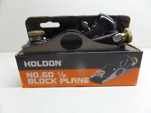 HOLDON 'Stanley No.60' Pattern Block Plane *BRAND NEW AND BOXED