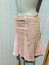 BCBG MAXAZRIA A Line Silk Peach Knee Length Skirt Womens Size 2