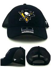 Pittsburgh Penguins New Adidas Dad Fanatics Black Gold Mesh Era Snapback Hat Cap