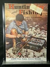 Hunting and Fishing Magazine Vintage March 1942 Issue Free Shipping!