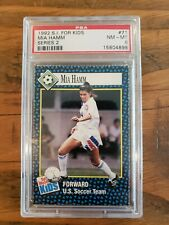1992 S.I. For Kids Mia Hamm Series 2 #71 PSA 8 Sports Illustrated
