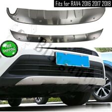 Skid plate fits for Toyota RAV4 2016-2018 front and rear bumper board protector