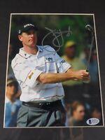 Jim Furyk Autographed PGA Golf Signed 8X10 Photo Beckett COA