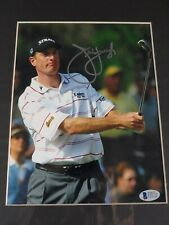 Jim Furyk Autographed PGA Golf Signed 8X10 Photo Beckett COA