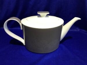 **SUPERB** Villeroy & Boch 'Modern Grace' Grey Teapot