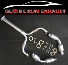 FITS:2003-2007 Infiniti  G35 3.5L Front Drive/Passenger Catalytic With Y-Pipe