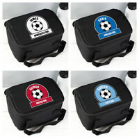 Personalised Boys Football Lunchbox Children's School Back to school Lunch bag