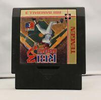 RBI Baseball 3 - Nintendo NES Game Authentic
