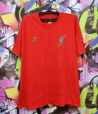 Liverpool Fc The Reds Football Shirt Soccer Jersey Top Mens Size Xxl