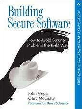 Building Secure Software Paperback: How to Avoid Security Problems the Right W