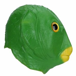 Latex Animal Masks Head Face Cover For Halloween Costume Party Adult Animal GDM