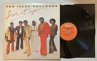 The Isley Brothers - Live It Up LP 1974 T-Neck PZ 33070 w/inner sleeve VG+ Funk
