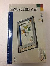 New Apple MacSense FireWire CardBus PCMCIA Card FW-200, IEEE 1394