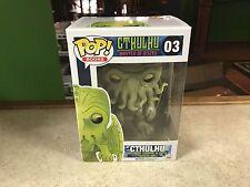 2016 Funko POP! Books H.P. Lovecraft CTHULHU #03 Horror Vinyl Figure MIB
