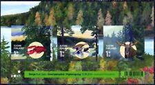 Moose Duck Crawfish Braille Stamps MNH Sheet Finland 10