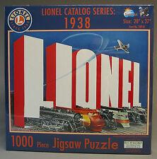 "LIONEL TRAIN CATALOG SERIES 1938 PUZZLE 1000 PIECE 20"" x 27"" jigsaw 9-32015"