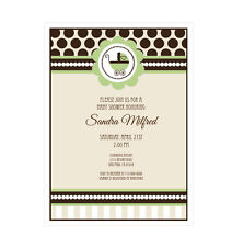 Green Gender Neutral Baby Shower  PERSONALIZED  Shower Invitations - Set of 16